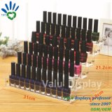 High Quality Transparent Clear Acrylic Nail Polish Rack Shelf Displays