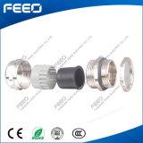 Presse-étoupe de câble métrique en métal de la CE