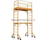 Caminhada de aço de construção através do sistema da estrutura de andaimes, fabricante de Shandong