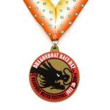 3D金属のエナメルの金のバレーボールメダル
