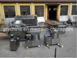 Pequeñas fritadas automáticas que fríen la máquina