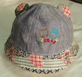 Nueva moda preciosos bordados tapa de la pesca para los niños Bebé
