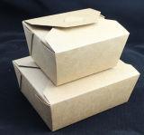 Factory Kraft Take Away Caja de papel para sopa de fideos Sopa de arroz