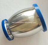 Acero inoxidable Sanitaria válvula de retención de pelota de tipo con virola de ambos extremos y drenaje manual