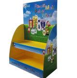 Affichage de carton Rack Place-Saving personnalisé pour le paysage des dépliants et cartes postales