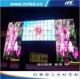 Serie de fundición a presión a troquel a todo color al aire libre de la exhibición de LED de P6.66mm para hacer publicidad de la cartelera