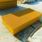 Double mini grille carrée de maille de FRP deux