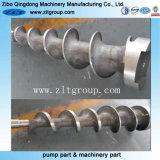 Piezas de acero fundido inoxidables por el bastidor de arena con trabajar a máquina del CNC
