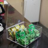 Малая коробка шлицев, акриловая коробка хранения чая кофеего плексигласа. Коробка хранения вспомогательного оборудования