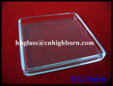 Laser de haute pureté personnaliser la fenêtre de verre de quartz de silice de rainurage