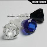 Tazones de fuente de cristal del diamante para los accesorios al por mayor de China de los tubos que fuman del agua