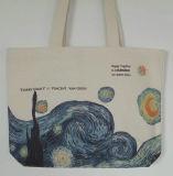 Изготовленный на заказ популярный мешок Tote Canves печатание