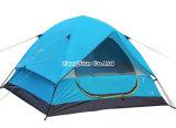 Tente extérieure de Double couche en gros, tente campante bleue de trois saisons
