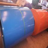 0.48mmx1250mm Ral 3005는 색깔에 의하여 입힌 강철 코일을 Prepainted