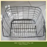Estampación de OEM de atención al cliente Cesta de malla de alambre plegable para almacén