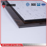 Panel compuesto IDEABOND Granite Piedra textura de aluminio (AE-509)