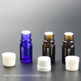 Bouteille d'huile de verre avec bouchon intérieur, flacon compte-gouttes (NBG26A)
