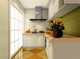 現代光沢度の高いPVCラッカー台所家具