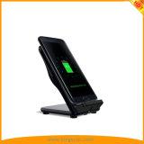 Заряжатель Qi беспроволочный быстрый для франтовского телефона Samsung, iPhone, iPad с FCC RoHS Ce