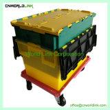 El apilamiento de anidación y utilidad de distribución de bandejas de Plástico PP