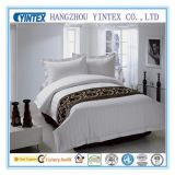 La mejor calidad equipado cama King Size Conjunto de hojas en blanco