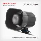 Collegamento senza fili della sirena esterna senza fili con il pannello di controllo
