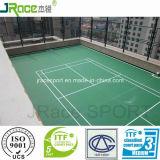 Поверхность спорта Badminton настила полиуретана сертификата Itf резиновый