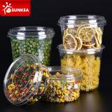 Freies Fruit Salad Pet Plastic Cup mit einem Lockable Lid