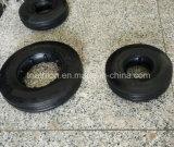 gomma di gomma solida di 6X2 8X2 10X2 10X2.5 con l'orlo d'acciaio di alluminio