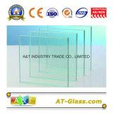 vidrio del vidrio de flotador del claro de 2mm~25m m/hoja usado para la ventana, la puerta, el etc constructivo