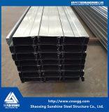 El color de acero galvanizado de metal corrugado Hoja de revestimientos de suelo