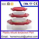 Doppelte Farben-Plastiknahrungsmittelbehälter-Form