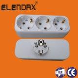 Europea Ce 16 un Plug/múltiples Socket/enchufe de alimentación de control remoto (P8813)