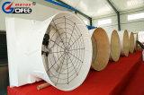 Einfach hoher Luftstrom-an der Wand befestigten axialen Fiberglas-Kegel-Ventilator installieren