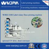 高速ラベル(ロゴ)のFlexoの印字機(WJRB320)
