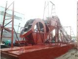 Het de Gravende Baggermachine van de Zuiging van het Zand ISO9001 15depth/Zand die van het Ijzer Baggermachine voor Goud kiezen