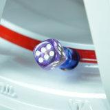 Ventil-Deckel-wasserundurchlässige Gummireifen-Ventilverschraubung ABS materielle Gaskappe