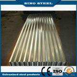Dx51d+Z100 Médios quente suave telha de Aço Galvanizado 0,18 mm