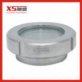 Vidro de vista sanitário componente do aço inoxidável do tanque