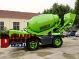 4 auto Diesel do M3 4X4 que carrega o caminhão móvel concreto pequeno propelido do misturador concreto para a venda