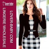 Dame Work Party Bodycon Office Kleding (l36017-1)