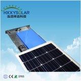 100W Solar integrada inteligente de la Calle Jardín de luz LED