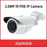 macchina fotografica esterna del IP del richiamo di obbligazione della rete del CCTV del IP Poe IR di 2.0MP HD
