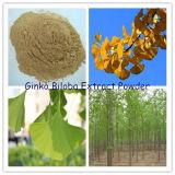 Polvere dell'estratto dei fogli di Ginko Biloba (glicosidi dei flavoni del N L.T. 24%)