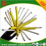 3X0.75mm2 5X1. mm2 7X Kabel van de Controle van de Kern van de Kabel van de Controle van pvc van de 1.5mm2 de Elektrische Kabel Multi