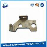 Pieza de la fabricación de metal de hoja de la aleación de aluminio del OEM para industrial eléctrico