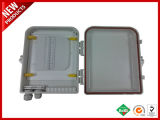 Cuadro de fibra óptica LC FTTH Panel terminación exterior