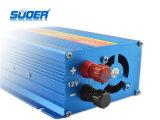 Inversor 12V de la energía solar del inversor 500W de la potencia de Suoer al inversor del precio de fábrica 220V con CE&RoHS (FAA-500A)
