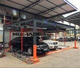 Sistema automatizado carro do estacionamento da garagem mecânica do elevador do enigma auto
