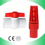 Encaixe da válvula de verificação do PVC